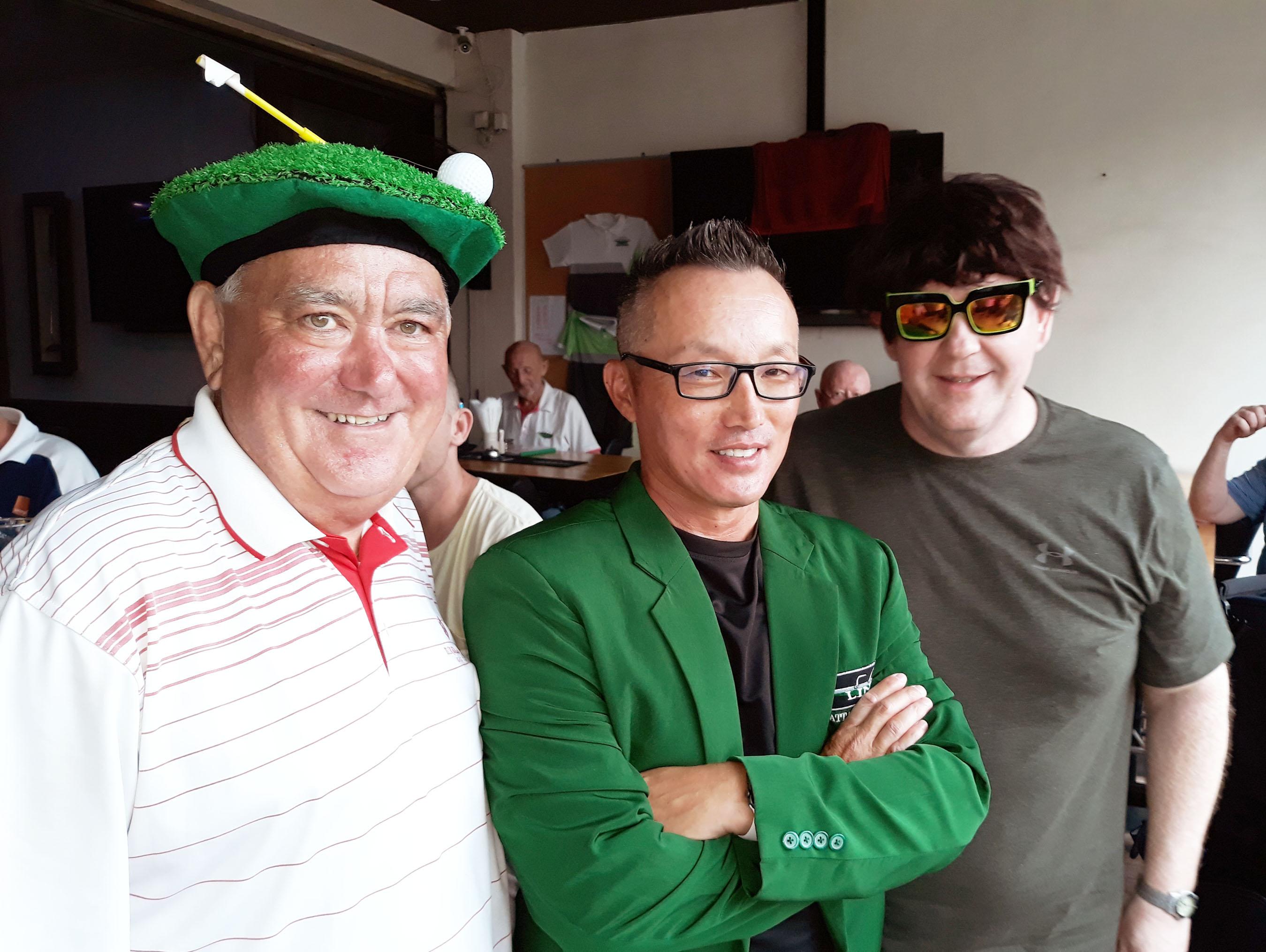 Pattaya Links Golf Society..........Burapha...A+B….......Wed. Nov.14….......S/ford